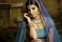 South Asian Lenghas - Blue