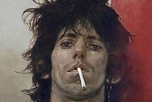 Mick + Keef / wasn't lookin' too good, but I was feelin' real well / by hiyasasha