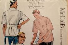 Vintage men's sewing patterns I like