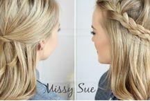 Hairstyles / by Kira Bossert