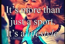 Cheerleading! / by Tiffany Miller