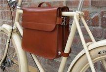 [MAKE] leather bike bags