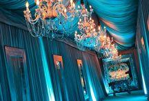 Tiffany Blue / Breakfast at Tiffany's themed Sweet Sixteen Party