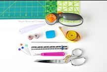 Nifty Notions and Tools for Sewing / Sewing notions and tool can be so awesome...especially when they make techniques more efficient! You'll find this board very useful for fun and helpful tools!  / by Baby Lock