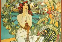 Art Nouveau / Alphonse Mucha and much more...