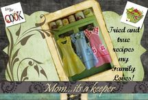 A cook: Family Tried & Loved!! / www.momitsakeeper.blogspot.com / by Danila MacDonald