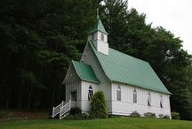 """The Art of Chapels / There is a serene beauty, a quiet reverence and in many cases a sadness their glory is in the past. It is sad that so many beautiful chapels sit forgotten, left behind for bigger, """"better"""" and newer"""