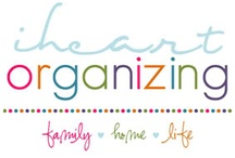 The Art of Organizing & Cleaning / Having a clean and organized home is a luxury I really enjoy!  I call it a luxury because spending time with my hubby and girls always trumps making the house a cleaner and more organized place to live.  So, when there is time...here are some great ideas for cleaning and organizing!