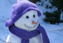 Mr. and Mrs. Snowman / by Denise Bailey
