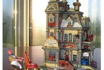Christmas Village  / by Heather AKA Palm Tree Princess