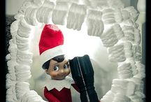Celebrations: Elf on the shelf / Elf on the shelf ideas / by Danila MacDonald