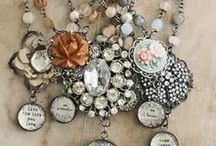 The Art of Design Inspiration / This Pinterest Board of designs includes, necklaces, charms, steampunk, button creations, collages and Vintage designs.  This board will contain pieces that are inspirational for future Love, Eunice Designs jewelry!