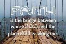 Walk with Faith / ♥ Lord I give you my faith so that we can walk side by side together always ♥