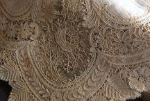 The Art of Linens and Lace / My ancestors on my mother's side of the family were lace makers in Scotland.  I have always loved vintage lace, and probably always will.
