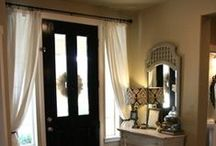 Home DIY: Window Treatments / DIY treatments for your windows, including curtains and rods. / by Laura Williams