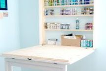Home DIY: Craft Rooms / by Laura Williams