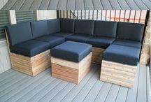 Garden & everything outside / flowers, plants, ideas, patio, flower beds, fire pits, flooring, furniture