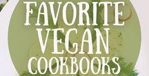 fave cookbooks / Some of my favourite vegan cookbooks.