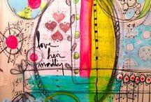 Mes envies d'Art Journal... / by Tina Defaud