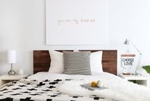 Bedroom / I can't live in all of them, but I can at least pin them. / by Bailey Williamson