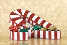 Holiday Gifts for Clients / Remember to thank the most important people in your business – from clients to associates.  / by Personalized HERSHEY'S® Chocolate Bars & Wrappers by WH Candy
