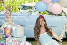 Sweet Sixteen Girl's Bash / Celebrate this monumental teenage birthday with swag and flair.