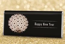 New Years Party / 3, 2, 1….Happy New Year! Ring in the New Year with a classy party for family & friends. / by Personalized HERSHEY'S® Chocolate Bars & Wrappers by WH Candy