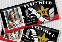 Movie/TV Themed Events / Movies and TV shows can be inspiring so why not create a party based on them?  / by Personalized HERSHEY'S® Chocolate Bars & Wrappers by WH Candy