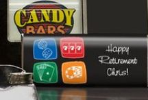 Retire In Style / Goodbye tension, hello pension! Celebrate your retirement in style.  / by Personalized HERSHEY'S® Chocolate Bars & Wrappers by WH Candy
