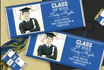 Graduation  / A milestone for the graduate and parents alike, graduation mark the beginning of a new chapter in life.  / by Personalized HERSHEY'S® Chocolate Bars & Wrappers by WH Candy