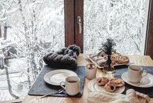 w i n t e r y / november/december winter decor + diy + design