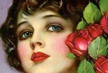Art - Vintage Ladies