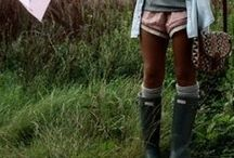 Rain Boots / How can you sing in the rain with out the perfect boots? / by Bailey Williamson