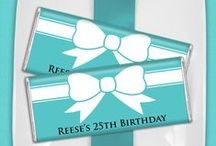 Fashionista Birthday / Are you the queen of fashion? Make your party a glam-tastic event.  / by Personalized HERSHEY'S® Chocolate Bars & Wrappers by WH Candy