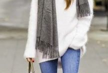 Winter Outfits / Cold days and cold colors / by Bailey Williamson