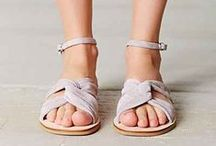 Sandals / Next best thing to barefoot. / by Bailey Williamson