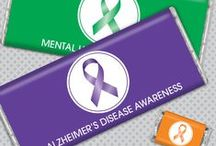 Awareness / Show your support for your cause! / by Personalized HERSHEY'S® Chocolate Bars & Wrappers by WH Candy