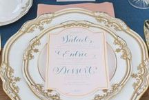 Wedding Place Settings    Inspiration / Place settings we love