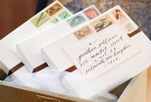 Wedding Stationary    Inspiration / A collection of the finest Stationary designs to inspire the modern bride