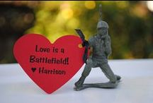 love is a battlefield / and I will fight for us till death do us part / by Rachael Niles