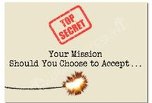 top secret mission  / birthday idea for z / by Rachael Niles