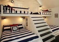 BUNKROOMS / Style ideas and decor inspiration for bunk rooms. bunkroom ideas bunkroom floorplan bunk room ideas bunk room for adults bunk room built in bunk room cabin bunk room ideas small