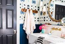 WALLPAPER / wallpaper wallpaper bathroom wallpaper home office wallpaper home decor wallpaper home wallpaper accent wall stripe wallpaper