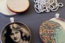 Photo Jewelry / #gifts, #jewelry, #DIY, #crafts, #photojewely, #photo jewelry, #handmade