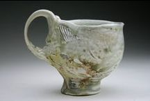 ceramic cups / mugs / by Kay O'Tickley