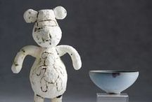 ceramic figures / if it isn't ceramic, then it's about inspiration. / by Kay O'Tickley