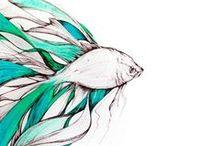 Fish Art / by Klaressa Hobbs