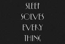 Sleep / by Mache Seibel, MD