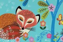graphic animals-woodland / by jessbrooklynluv