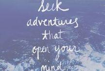 Seeking Adventure / by Mallory Eason